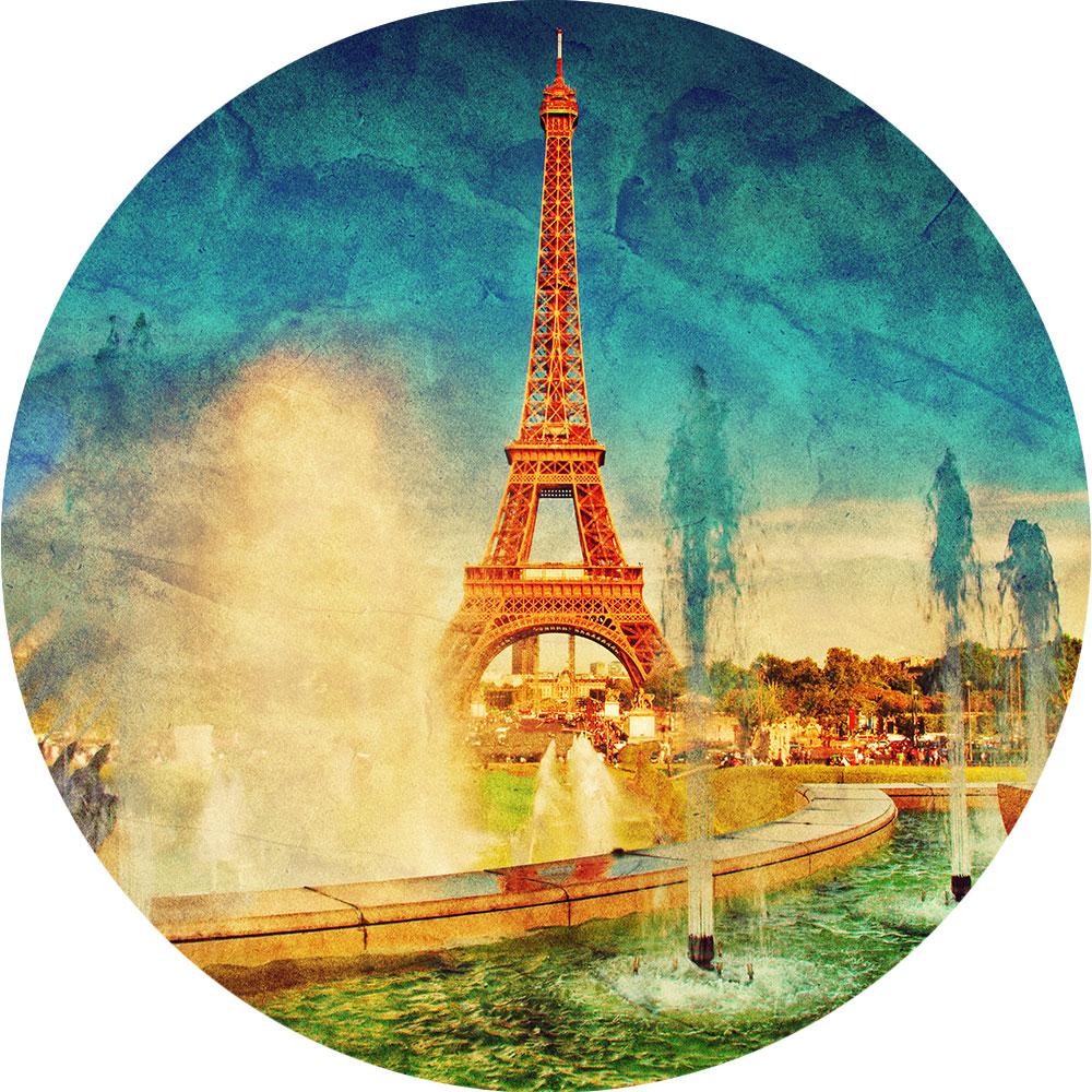France Peinture Tour Eiffel Bonbon France